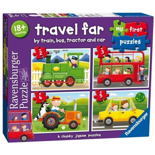 4 Jigsaw Puzzles - Travel Far