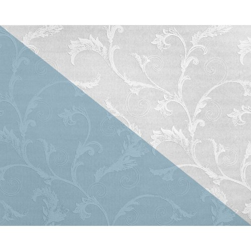 EDEM 83012BR60 Floral paintable non-woven wallcovering wall matt white 26.50 sqm