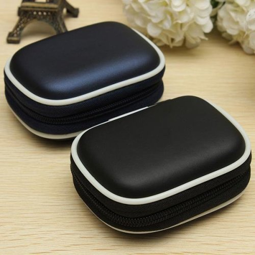 EVA Shockproof Earphone Headset Case Cover Memory Card Storage Bag