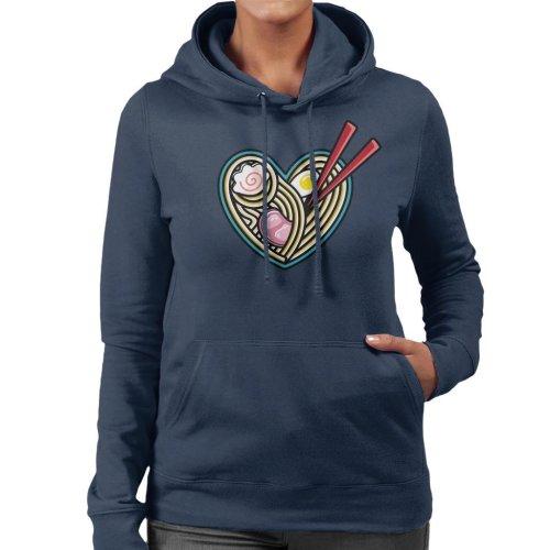 Love Ramen Women's Hooded Sweatshirt