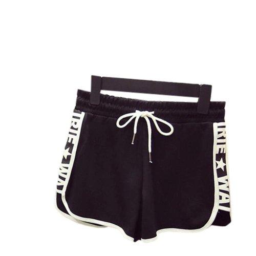 Women's Hot Active Wear Lounge Shorts Elastic Waist Gym Pants,#A 14