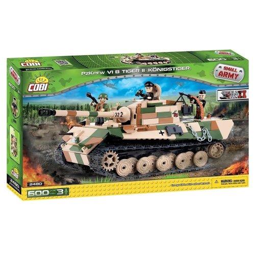 Cobi - Small Army - Pzkpfw VIB Pzkpfw Tiger II (600 Pcs)