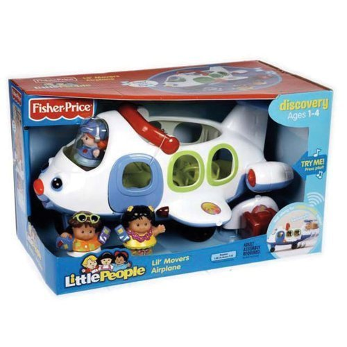 Amazing Fisher-Price Little People Lil movers Airplane