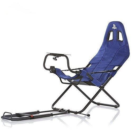 Playseat Challenge PlayStation Racing Foldable Gaming Chair - Blue