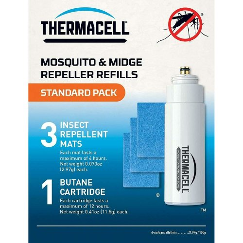 Thermacell Mosquito Repellent Refill Pack (Mats & Gas) - Standard