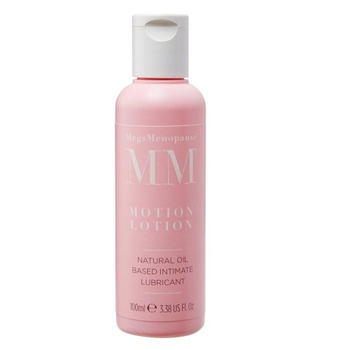Megs Menopause Motion Lotion Natural Oil Based Intimate Lubricant 100ml