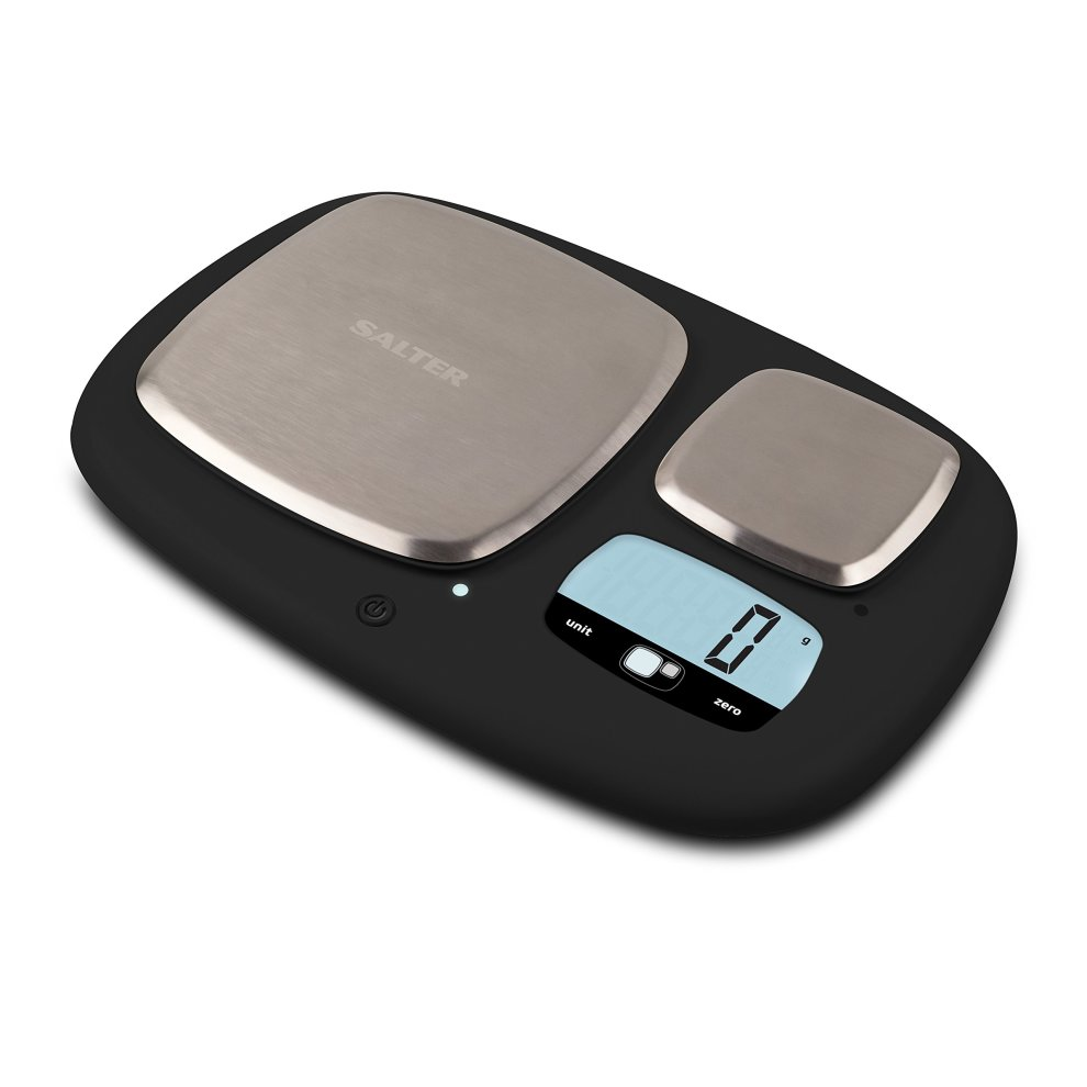 496e758155c3 Salter Ultimate Accuracy Dual Platform Kitchen Scales, High Capacity 10kg  and Ultimate Accuracy 200g Platforms, Stylish Kitchen Accessory with...