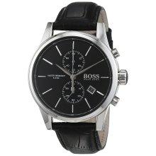 Hugo Boss Chronograph Leather Mens Watch 1513279