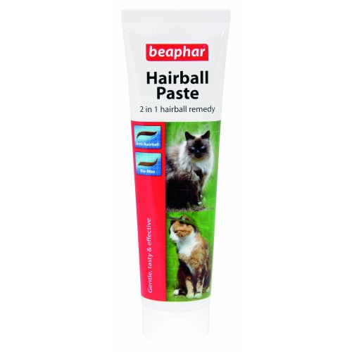 Beaphar Hairball Paste Two-in-One for Cats, 100 g