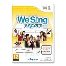 We Sing Encore (Wii)