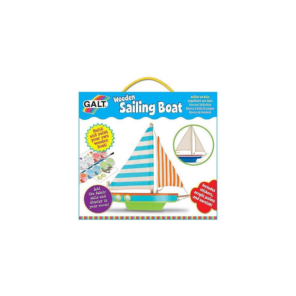 Make Your Own Wooden Sailing Boat Galt Toys Wooden Boat Galt