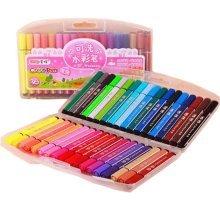 Children Multicolor Washable Crayons/Non-toxic Color Pens, 36ct (Random Color)
