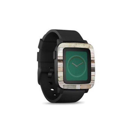 DecalGirl PSWT-EWOOD Pebble Time Smart Watch Skin - Eclectic Wood