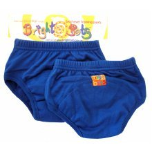 Bright Bots 2pk Washable Training Pants Blue