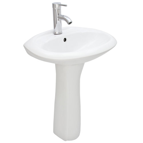 Serico Wash Basin & Pedestal