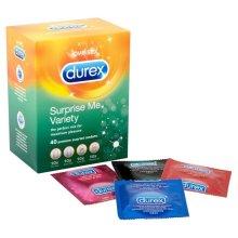 Durex Surprise Me Variety Mix Condoms - Pack of 40 Condoms