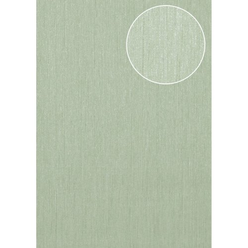 Atlas COL-526-1 Tone on tone wallcovering wall shimmering pale-green 5.33 sqm
