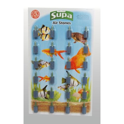Supa Cylindrical Airstones (Pack of 24)