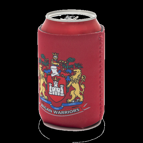 Wigan Warriors rugby league stubby holder