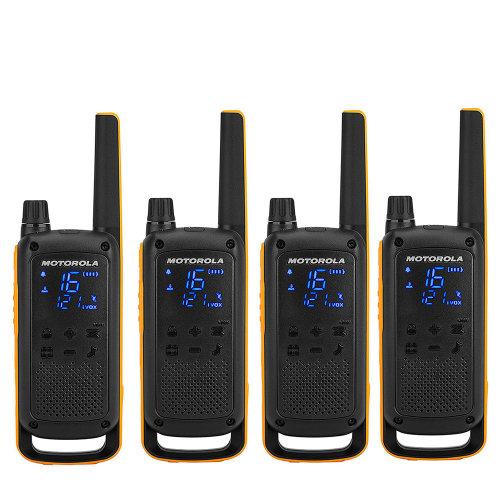 Portable PMR radio station Motorola TALKABOUT T82 Extreme Quad set with 4 pcs