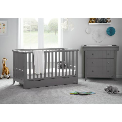 Obaby Belton 2 Piece Room Set - Taupe Grey