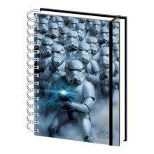 Star Wars 3D Stormtrooper Lenticular Notebook