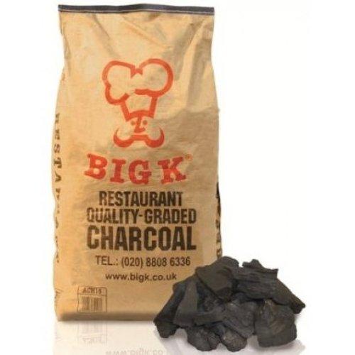 Big K Restaurant Grade Lumpwood Charcoal 15Kg