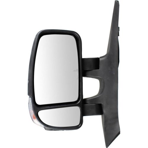 Vauxhall Movano 2010-2016 Manual Black Indicator Wing Door Mirror Passenger Side
