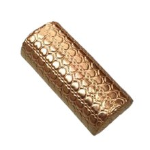 Gold Armrest Nail Art Tool Arm Rest Holder PU Leather Soft Hand Cushion Pillow