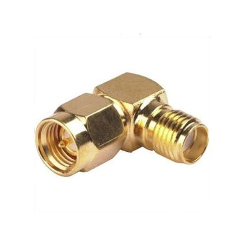 1 PC SMA Male To Female Adapter Right Angle 90 Degree for RC Drone FPV Racing