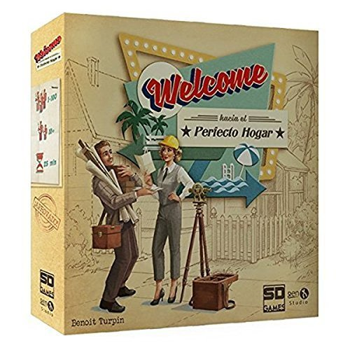 SD Games – Welcome to the Perfect Home, Multicolour (SDGWELCTO01)