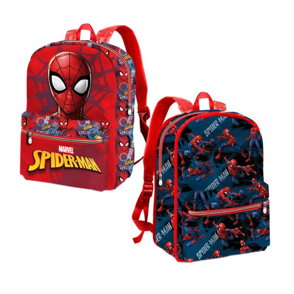 c70dfa1b1a15 Children's Spider-Man Reversible Small Backpack