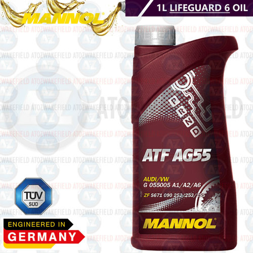 AUDI BMW VW BENTLEY LAND ROVER AUTOMATIC GEARBOX TRANSMISSION OIL LIFEGUARD 6