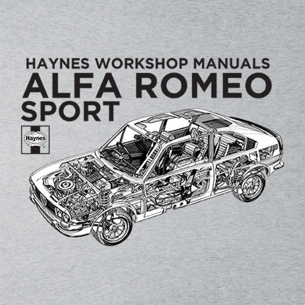 Alfa Romeo Repair Manual Haynes Owners Workshop 0292 Sport Black Mens Varsity Jacket