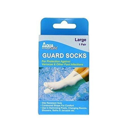 AquaSafe Verruca Guard Socks for Swimming - Small - Child Size 12.5 - Adult 2