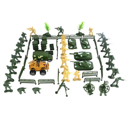Models Toy Gifts Toy Soldiers/Cars/Trucks/Toy Guns/Toy Tank/Corps-70PCS
