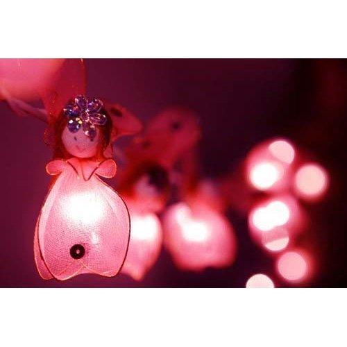 size 40 b00a4 6ce66 PINK ANGEL LED FAIRY LIGHTS - POSTED FROM THE UK