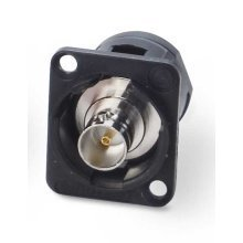 Switchcraft Chassis Mount BNC Coupler Black
