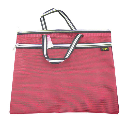 Oxford Leisure Conference Document Bag Laptop Bag Briefcase (30.5 x 36.8cm) RED