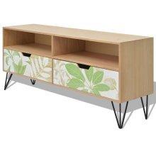 243700 vidaXL TV Cabinet MDF 120x30x50 cm Brown