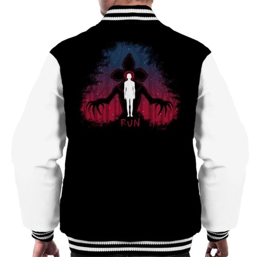 Stranger Things Demogorgon Run Men's Varsity Jacket