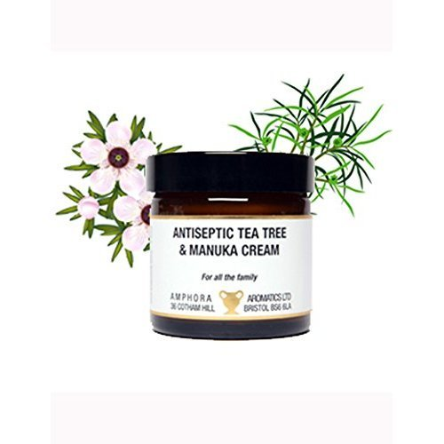 Amphora Aromatics Antiseptic Tea Tree & Manuka Cream 60ml – Anti-Fungal