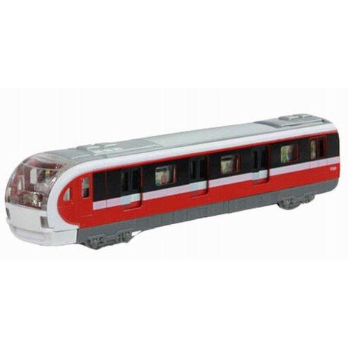 Simulation Locomotive Toy Model Trains Toy Subway, Red ( 18.5*4.5*3.5CM)