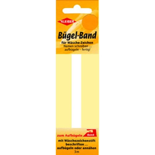 Kleiber Material Name Label Iron on Tape Refill
