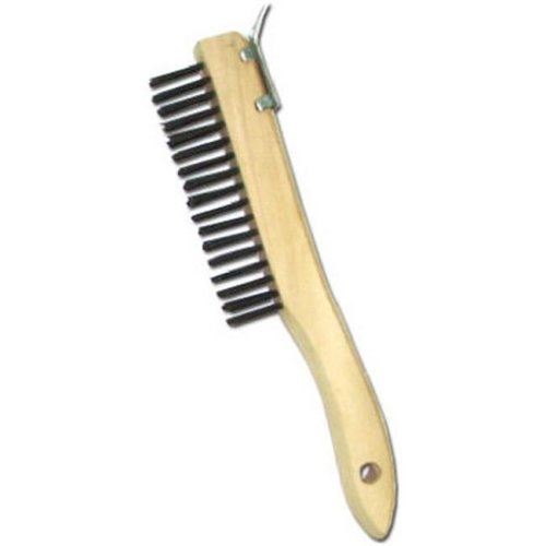 Abco Products 01710 Shoe Handle Wire Brush With Scraper