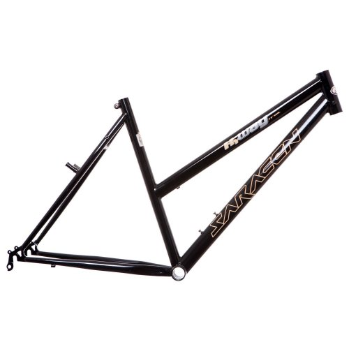"SARACEN LADIES 700c WHEEL TRIAL BIKE FRAME 20"" HYBRID BLACK (V-BRAKE) NEW"