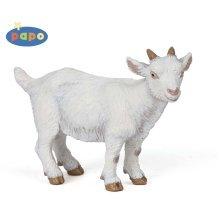Papo White Kid Goat Figurine - Farm Animals Toy New Figures Toys Brand Free -  papo white goat farm animals toy new figures kid toys brand free