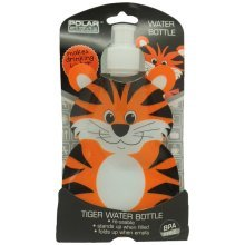 Fold Flat Water Bottle Tiger