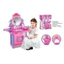 DRESSING TABLE TOY ROLE PLAY CHILDREN MAKEUP GIRLS VANITY GIFT SET BIG