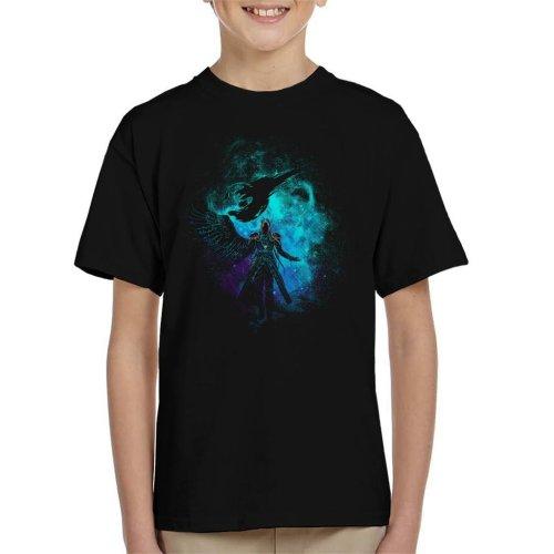 Sephiroth Silhouette Final Fantasy VII Kid's T-Shirt